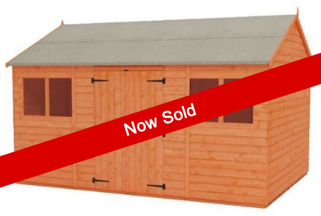 14-x-10-Ex-Display-Workman-Shed-now-sold