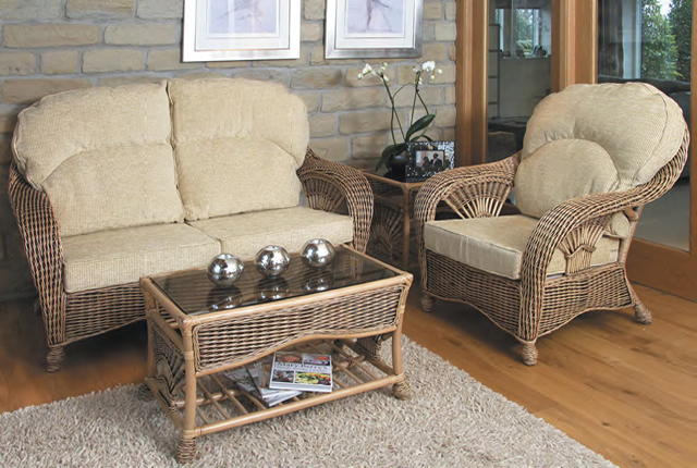 Ankara Brown Wash - Camden Wheat Fabric