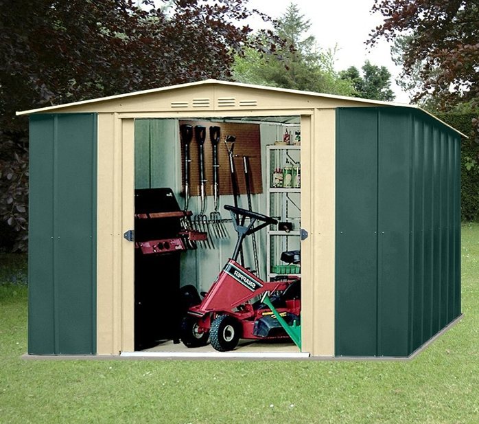 Canberra 10x7 Apex Metal Shed
