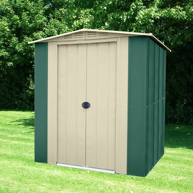 canberra 6x4 apex metal shed - Garden Sheds 6x4