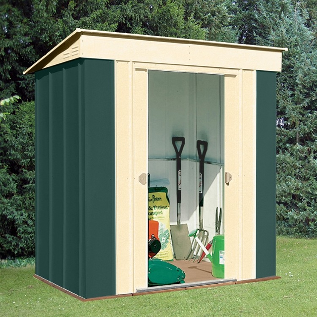 Canberra 6x4 Pent Metal Shed