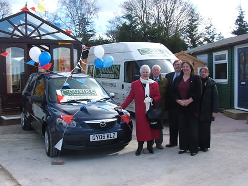 Cousins Conservatories Car Giveaway