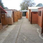Cousins Conservatories & Garden Buildings Showcentre Sheds nand Playhouses on Display