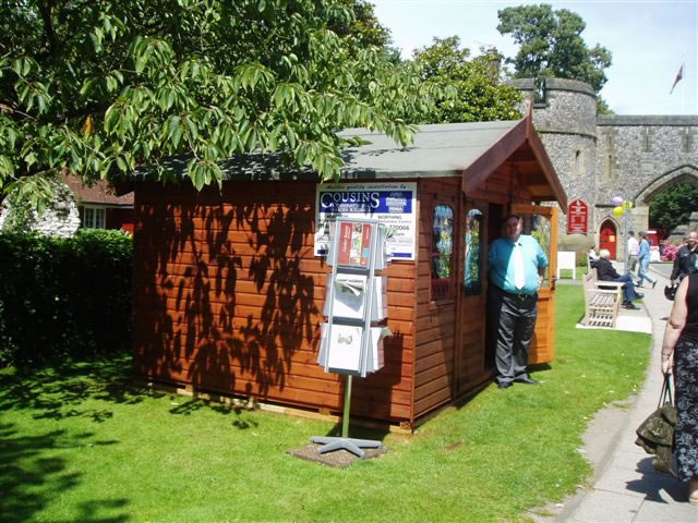 Cousins Conservatories & Garden Buildings at Arundel Festival