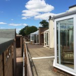 Cousins Conservatories and Garden Buildings Walkway to Garden Offices