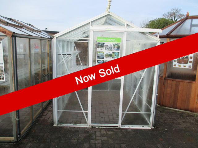 Ex Display Robinsons White Greenhouse