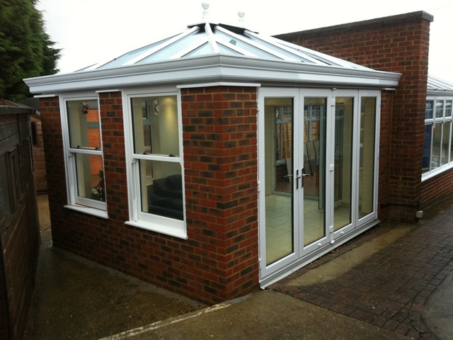External View of Livin Room Conservatory Orangery