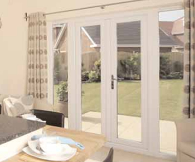 French Doors Internal View