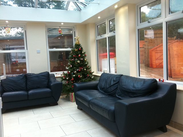 Internal View of Livin Room Conservatory Orangery