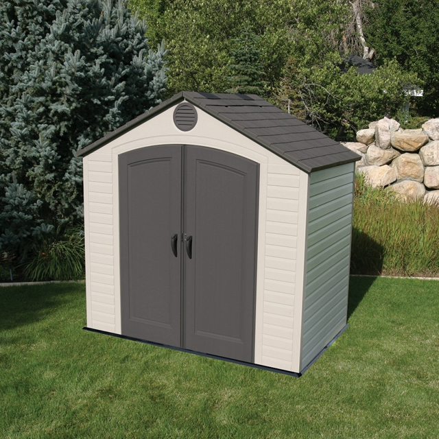 Lifetime 8x5 Plastic Shed
