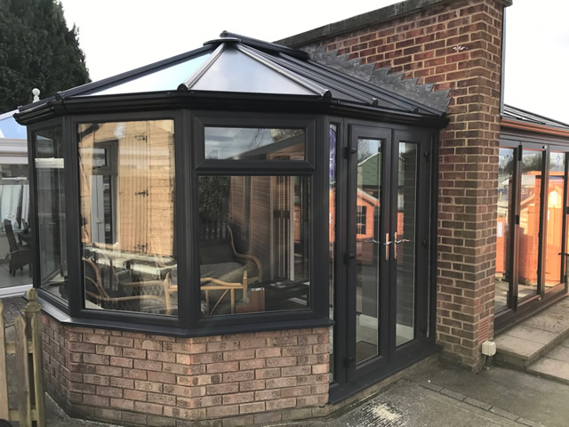 Livin Roof Conservatory External Showcentre Picture