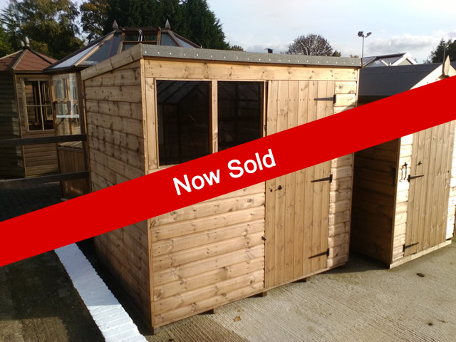 Popular Pent 7 x 5 Now Sold