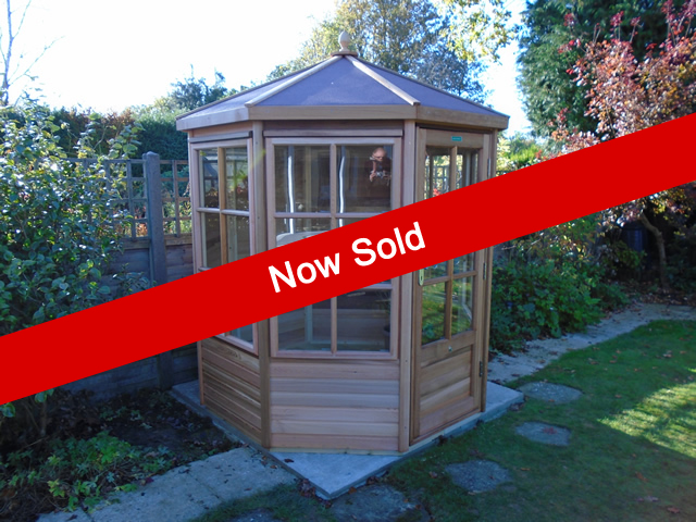 Sold Alton Shipton Summerhouse 6 x 6 Summerhouse