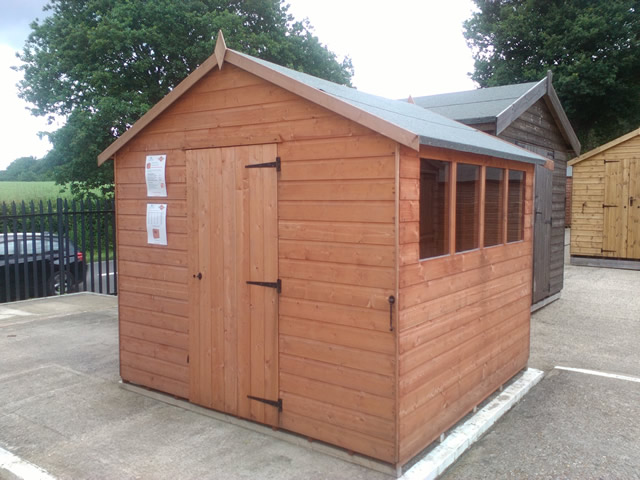 Super Apex 8x8 Ex-Display Shed