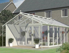 Veranda Glazed Extension with Mono Pitch Roof