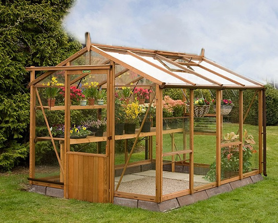 Alton Traditional Wooden Greenhouse