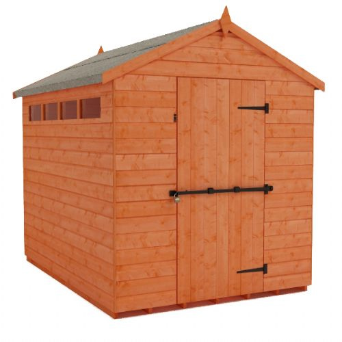 Cousins Security Apex Shed