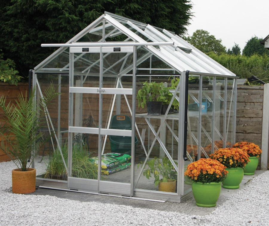Elite 7ft 5inch Wide Vantage Greenhouse