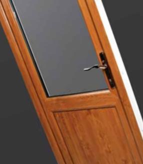 Glazed Back Door