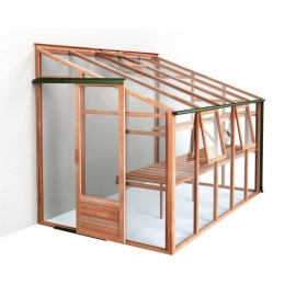 Growhouse Lean to greenhouse 6 x 10