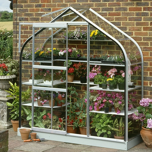 Halls Wall Garden Greenhouse