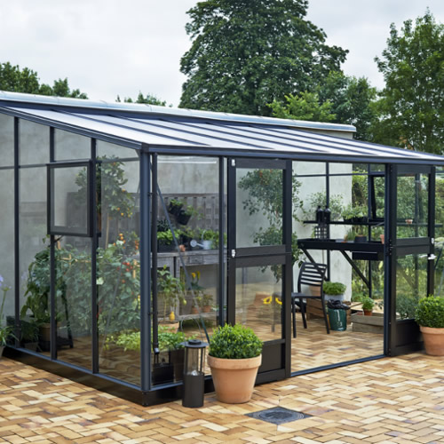 Juliana Lean-To Greenhouse