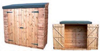 Regency Double Toolstore Shed