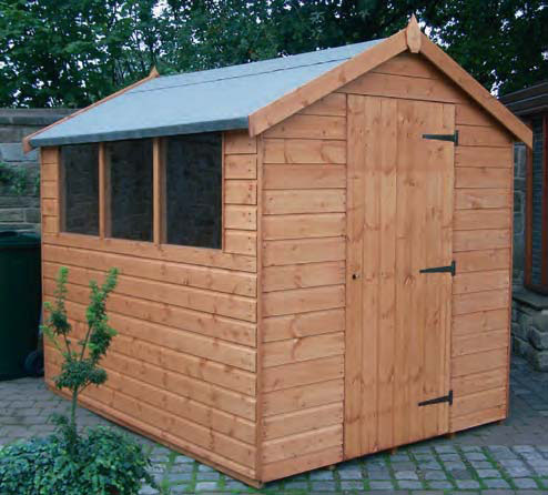 Regency Popular Apex Shed