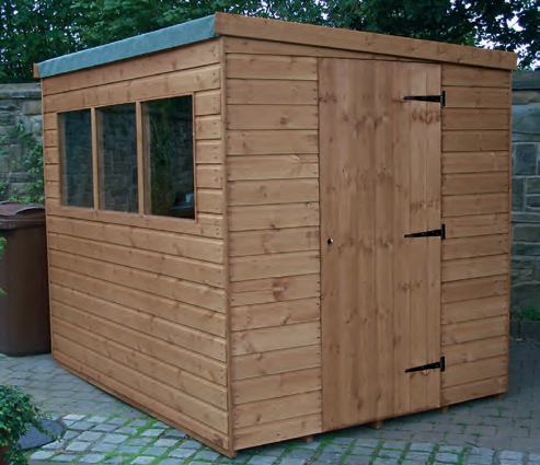 Regency Popular Pent Shed