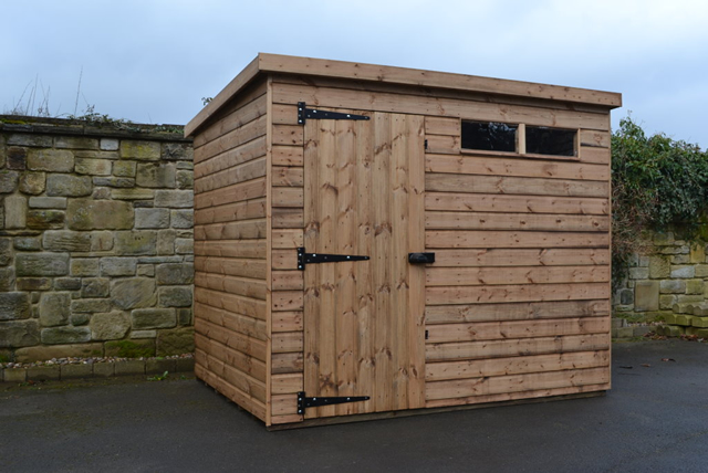 Regency Security Pent Shed