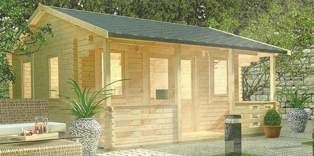 The Adlington Log Cabin