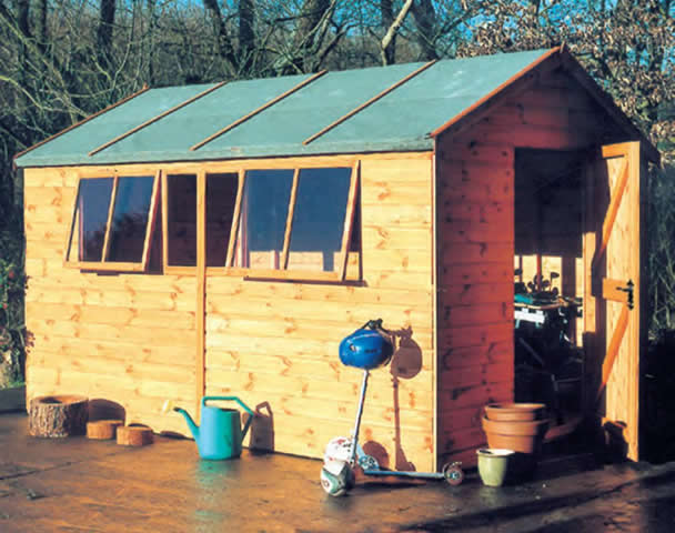 The Malvern Heavy Duty Apex Shed