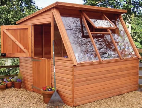The Malvern Solar Potting Shed