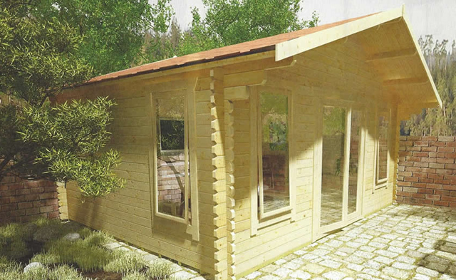 The Sutton Log Cabin