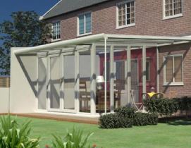 Veranda Glazed Extension with Duo Pitch Roof