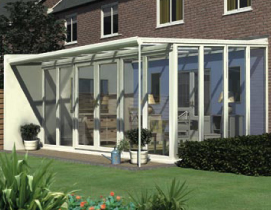 Veranda Lean To Glazed Extension