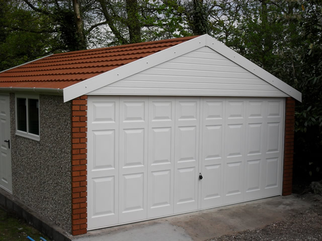 Apex 20 Concrete Garages
