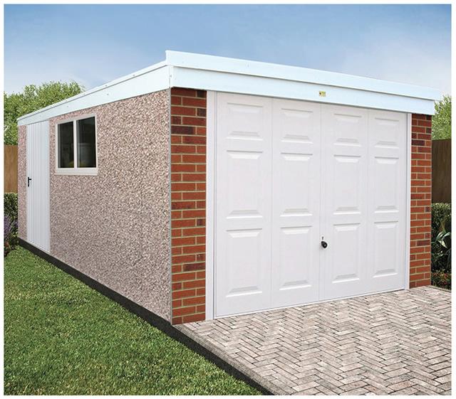 Deluxe Concrete Garages