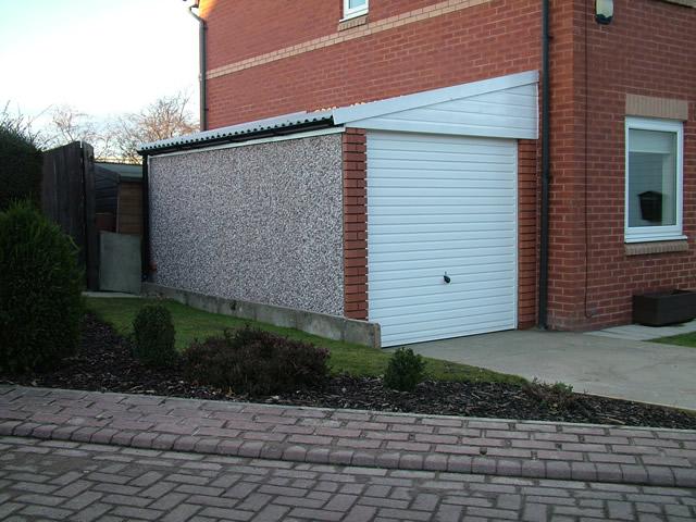 Lean To Concrete Garages