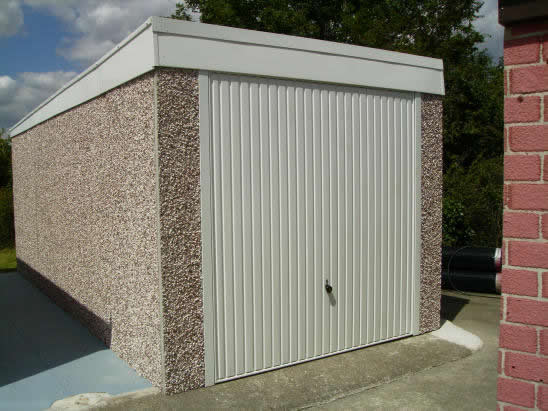 Pent Concrete Garages