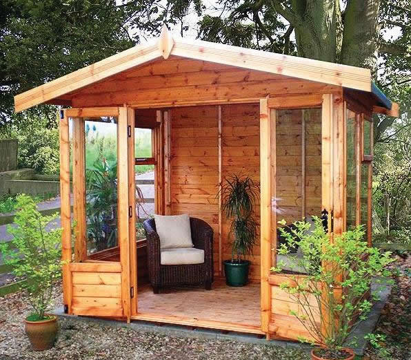 The Malvern Scandinavian Summerhouse
