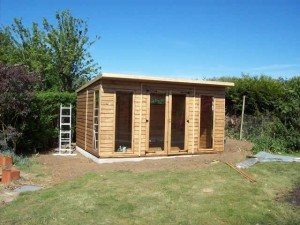 Summerhouse Installation Completed