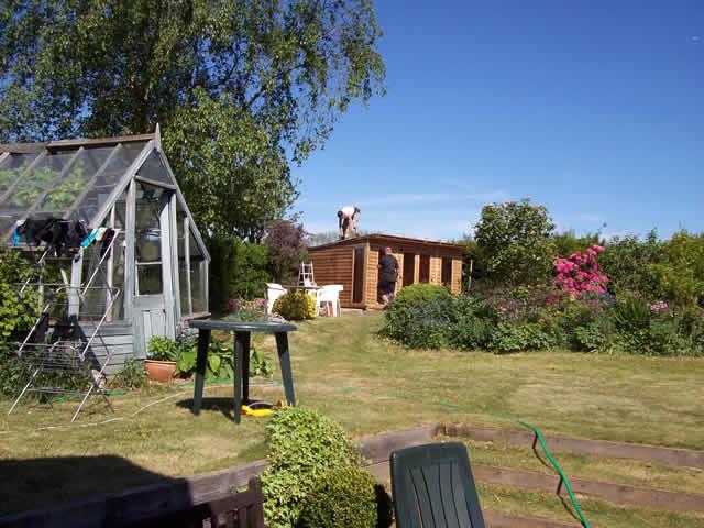 Summerhouse Installation Part 12