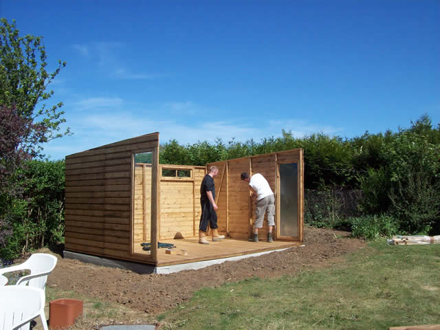 Summerhouse Installation Part 3