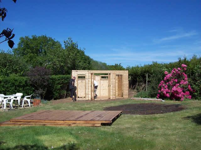 Summerhouse Installation Part 5