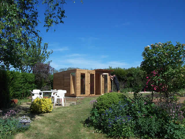 Summerhouse Installation Part 6