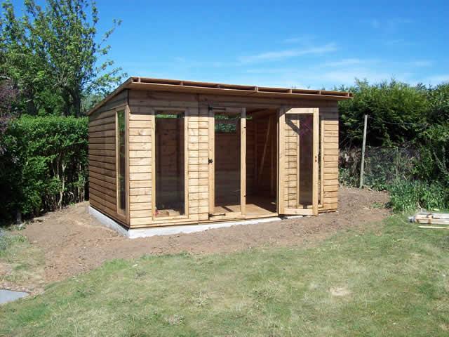 Summerhouse Installation Part 7