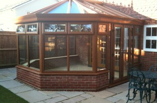 Victorian Conservatory Installation Storrington West Sussex