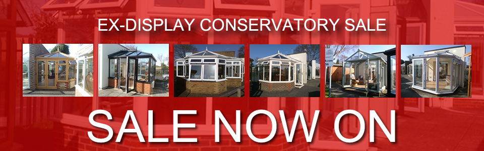 Ex Display Conservatories Sale April 2015