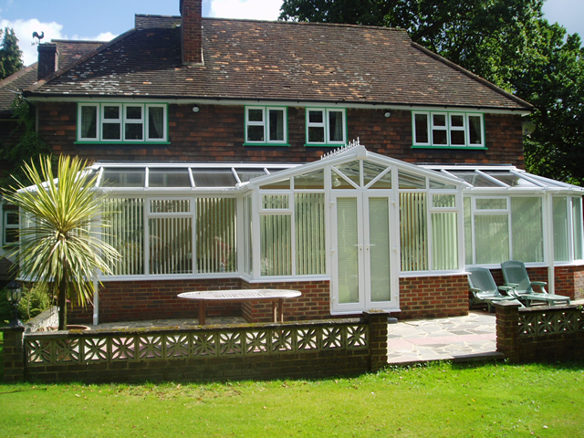 T Shaped Conservatories